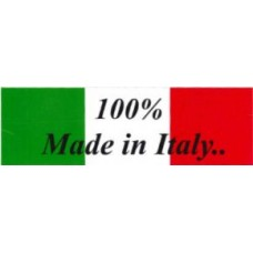 100% MADE IN ITALY con bandiera
